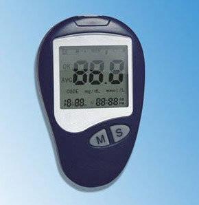 Wholesale blood glucose meter: Portable Blood Glucose Meter HDK-100BM1