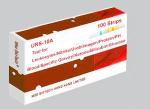 Wholesale blood glucose test strips: Urine Reagnet Rapid Test Strips-URS-10A