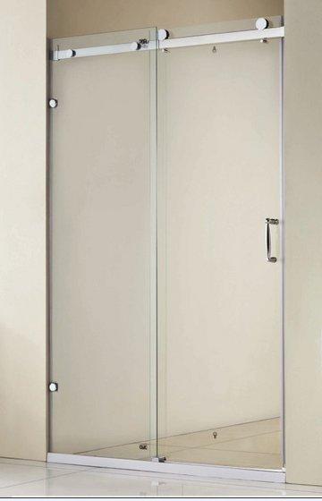 Shower screens sling wheel single open sliding door id for Single sliding screen door