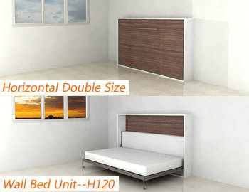 H120 wall bed murphy bed id 3934144 product details - Bunk beds that fold into wall ...