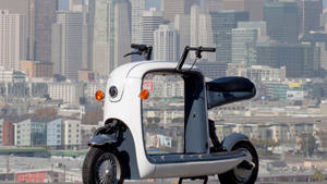 Wholesale for cars: Lit Motors Reveals Kubo Cargo-Carrying Electric Scooter