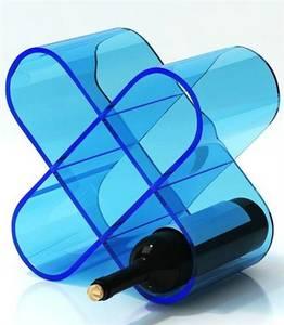 Wholesale acrylic cosmetics display rack: New Design Acrylic Wine Bottle Holder ,Perspex Wine Display Rack
