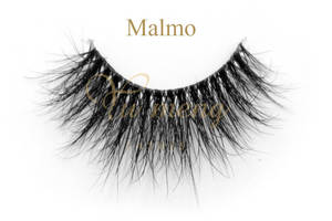 Wholesale custom labels: Beauty 3D Clear Band Lashes Privite Label Eye Lashes Customeized Packaing TD21