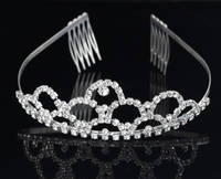 Wholesale Fashion Wedding Tiara Factory/Pageant Tiara