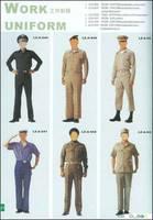 Sell Military Police Work Uniform overall uniform fatigue uniform