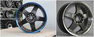 Wholesale chrome paint system: 5X114.3 Mm Made in China Quality Assured & Silver, Black or As Your Request Car Alloy Wheel