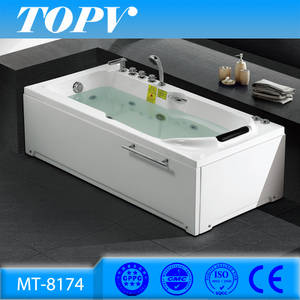 Wholesale sexs film: 230USD Cheap Price 150cm Jet Whirlpool Air Massage Bathtubs for One Person Spa MT8174