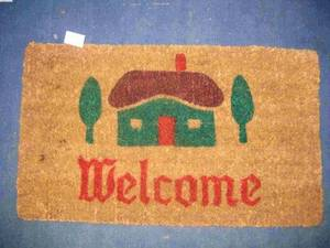 Wholesale hand made: Coir Doormat, Coco Mat,
