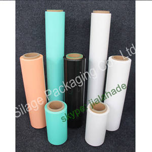 Wholesale Stretch Film: Professional Factory,High UV Resistanc Wrap Film,750/1500/25 Plastic Silage Film,Round Film Denmark