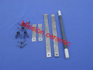 Wholesale sic heating element: High Temperature SiC Rod Heating Element