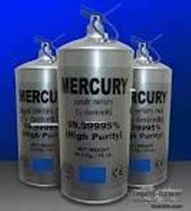 Wholesale Flasks: Mercury 99.9999%