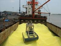 Sell Sulphur lump in bulk vessel from Russia, 4-8 days Transit Time to China