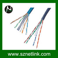 Sell Twisted Pair Cable (UTP), 4 pairs, Category 6, Solid, PVC NT-C001