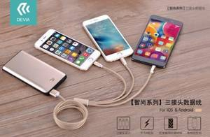 Wholesale usb phone: Universal 3in1 USB Cable Portable Retractable Charging Line for  Phones