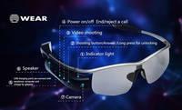 Smart Glasses Polarized Sunglasses Bluetooth 4.0 WIFI Video Recorder DVR Camcorder 8.0MP Camera Spor