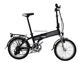 Wholesale the battery: Electric Folding Bicycle with the Lithium Battery Inside Frame