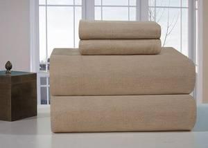 Wholesale cotton bedding comforter sets: Heavyweight Cotton Flannel Sheet Set