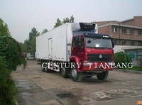 Sell HOWO 6X4 INSULATED TRUCK