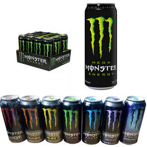 Wholesale monster energy drinks 500ml: Monster Energy Drink 500ml X 12 Cans