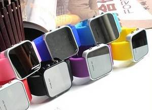 Wholesale led soft neon: Glass Watch/ LED Watch/ Promotion Watch