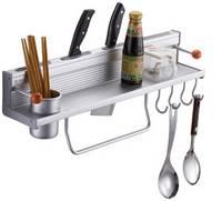 Aerospace Aluminium Multifunction Kitchen Rack MO-KR018C