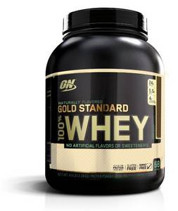 Wholesale chocolate: Optimum Nutrition Gold Standard 100% Whey, Naturally Flavored Chocolate, 4.8 Pound