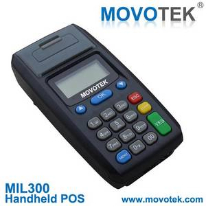 Wholesale handheld mobile thermal printer: Movotek MIL300 POS Prepaid Airtime, E-Voucher, E-top Up System, Mobile Recharge System, VoucherTopUp