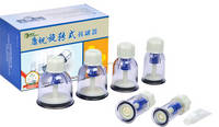 KangZhu Twist Top Rotary Vacuum Cupping Set 12 Cups