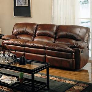 Wholesale lovely pillows: Walter Casual Dual Reclining Sofa