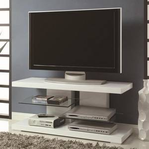 Wholesale TV Stands: TV Stands Modern TV Stand with Alternating Glass Shelves