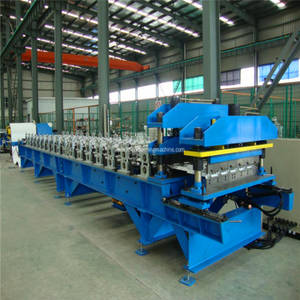Wholesale chrome paint system: Automatic glazed steel tile forming machine