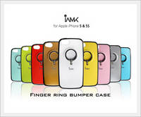Finger Ring Bumper Case for Apple IPHONE5 and 5S - Phone Protection Accessories