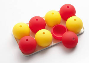 Wholesale silicone tray: Silicone Ice Ball Mould with Tray Ice Cube