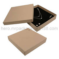Sell Beige paper necklace jewelry box