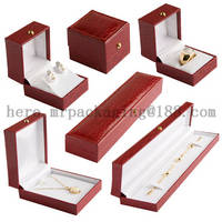 Sell Gold button crocodile leather luxury jewelry boxes