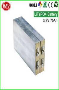 Wholesale communication: 3.2V 75AH Communication Backup LIFEPO4 Energy Storage Battery Factory Price