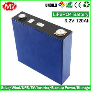 Wholesale battery cell: Solar Batteries Storage 3.2V 120Ah LIFEPO4 Battery/Batteries Cell