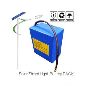 Wholesale battery packs: Solar Square Lamp Solar Plaza Light Battery LIFEPO4 Battery PACK,12V Solar Battery Pack