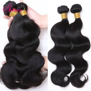 Wholesale Hair Extension: New Coming 3 PCS Virgin Remy Hair 7A 100 Percent Natural Brazilian Hair Extensions