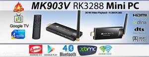 Wholesale smart phone: Android 4.4 TV Stick - QUAD Core Rockchip CPU, 2GB RAM, 8GB Memory, Remote Control
