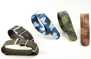 Wholesale silicone watch: NATO 22mm Watchband Army Green Strap for Hours Strap 22 Correas De Relojes Silicone Watch Strap