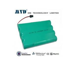 Wholesale ni mh power tool battery: MYD Sub C 2.5ah 14.4v Nimh Rechargeable Battery