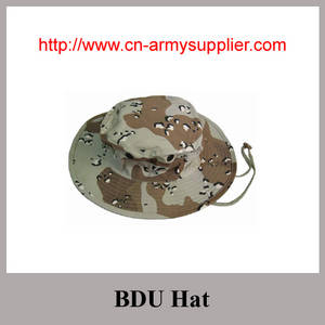 Wholesale army hat: Desert Army Green Navy Blue Camouflage Military BDU Hat