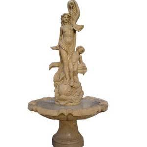 Wholesale Garden Ornaments & Water Features: European Sculptural Marble Stone Fountain