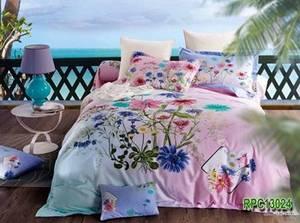 Wholesale duvet cover: 100% Cotton Reactive Printed Duvet Cover Sets