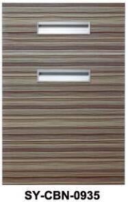 Wholesale Cabinet Doors: Wooden PVC Kitchen Cabinet Door