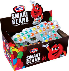 Wholesale packing box: Choco Dragee Blister Smart Beans