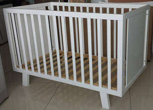 Wholesale Nursery Furniture & Decor: Cubby Plan LMBC-071 Baby Furniture Wooden Baby Cot