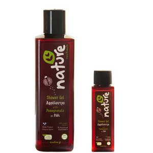 Wholesale Shower Gel: Natural Shower Gel with Pomegranate Organic Extracts