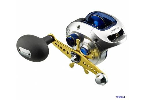 Sell shimano curado type j 300 hj boat fishing reel for Different types of fishing reels